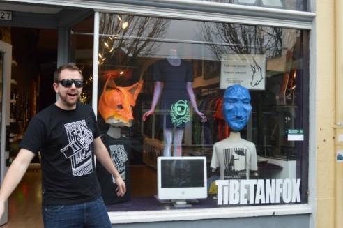 Derek Danielson, Tibetan Fox owner/manager/designer. Feb. 14. 2013Photo by: W.C. Lawson