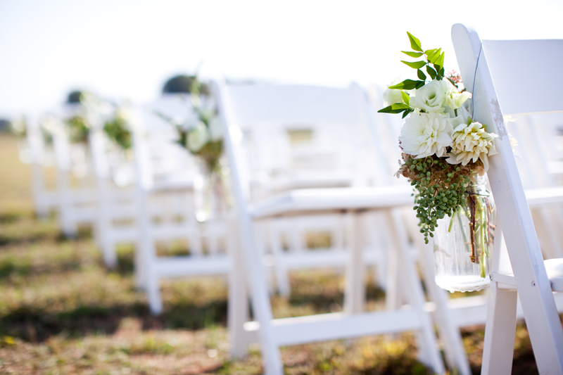 Simple Outdoor Ceremony Decorations: 5 New 'Around The House' Wedding Decoration Trends